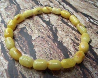Unique Baltic Amber Bracelet