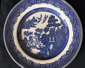 Blue Willow | Dinner Plate | by Johnson Brothers | England