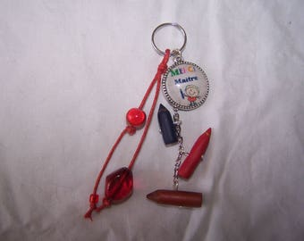 Thank you Keychain: charms, bag charm, jewelry designer