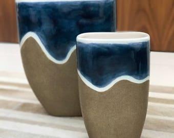 Double Assimetricos Vases