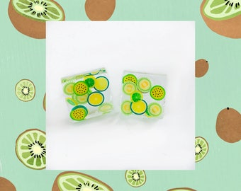 Square Fruits Earrings