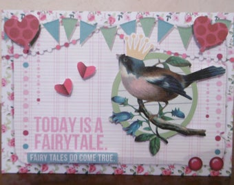 The perfect card to make a fairy tale