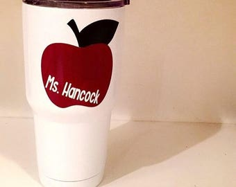 Cup Decal