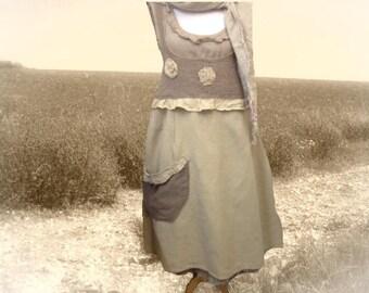 Linen Japanese apron string