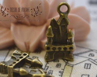 set of 10 QKA042 pendant, Castle, home