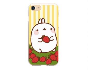 samsung galaxy s6 s7 s8 rabbit case, iphone 6 7 8 rabbit case