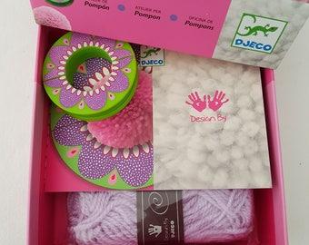 Kit for kids workshop with tassels
