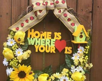 """18"""" Home Wreath"""