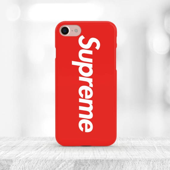 Red Supreme IPhone 8 Case Supreme Samsung Note 8 Case IPhone 8