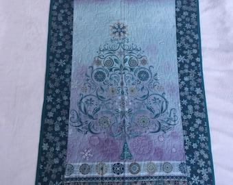 Christmas blue turquoise/purple