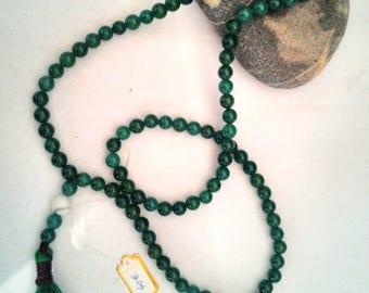 Jade Mala necklace