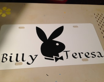License Plates 10.00,comes in blue,white,red or pink,personalize it,with your favorite saying or picture