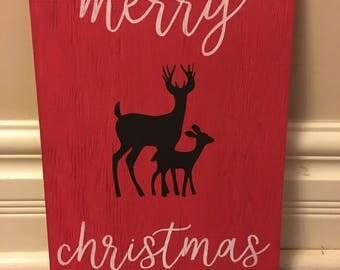 Merry Christmas Deers