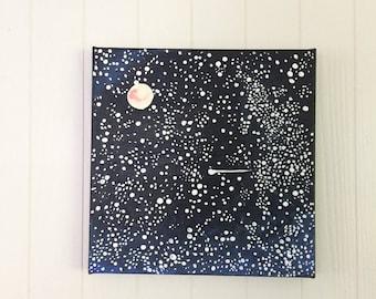 Dark Starry Night Sky
