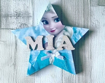 Free standing name plaque