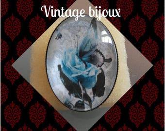 "Bronze ring adjustable ""vintage Butterfly"""