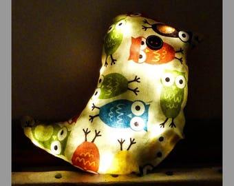 Nightlight child bird Garland LED
