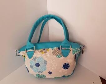 Small woven handbag