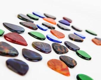 Glass Picks - Tempered Glass Guitar Picks