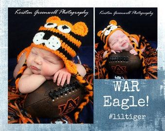 Auburn Tiger Inspired
