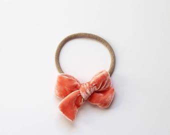 "Mini Velvet - ""Apricot"""