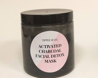 Activated Charcoal and Tea Tree Detox Facial Mask