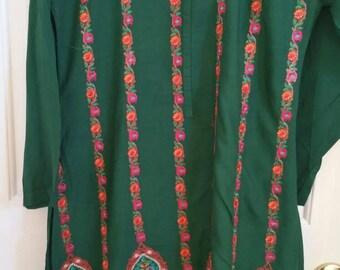 Full embroidered kameez