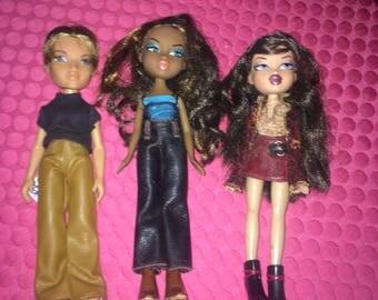 Dolls - Bratz Dolls - Lot of 3