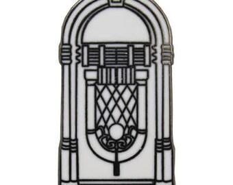 50's Radio Hard Enamel Pin
