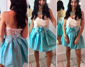 I love this bow skirt by Auténtica Boutique