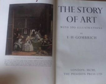 Gombrich, E.H - The Story of Art - First Edition Hardcover Phaidon UK 1950 Classic Art History