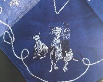 Vintage Cowboy Rodeo Bandana