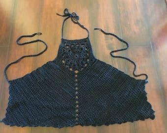 Festival Crochet Halter Top
