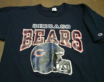Vintage Chicago Bears Champion T-shirt / Vintage Bears / Vintage Champion / Made in USA
