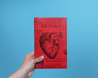 Book with heart design