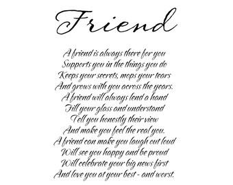 Friend Print