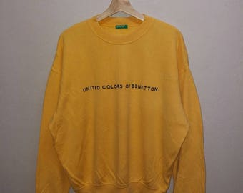 Vintage 90s United Colors Of Benetton Sweatshirt