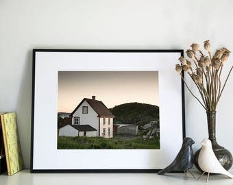 Newfoundland Cottage, Photographic Print, 11x14
