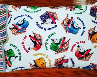 Thomas the Train pillowcase (white)