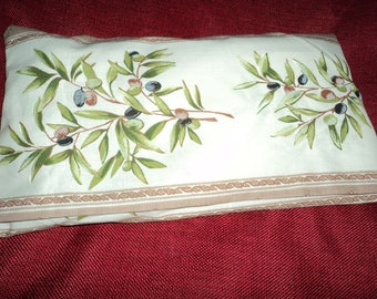 Large heating pad to put 2 minutes microwave olives pattern