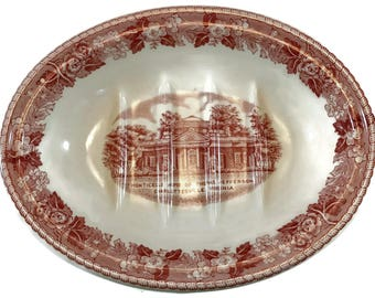 Old English Staffordshire Monticello Soapdish