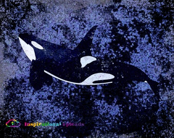 "Orca - 11"" x 14"" HD Digital Print"