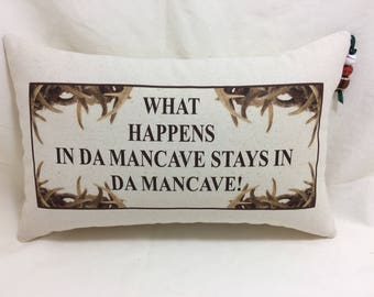 What Happens In The Mancave Stays In The Mancave- My Wife Said It Was Okay!