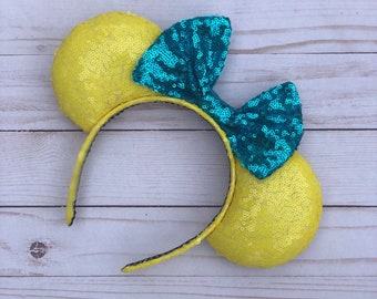 Guppy mouse ears