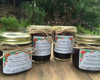 Blueberry Jam (50% Less Sugar)
