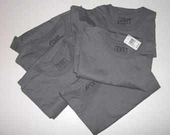 Champs Sports Gear Gray T-shirts Size Medium Lot of 5 New with tags