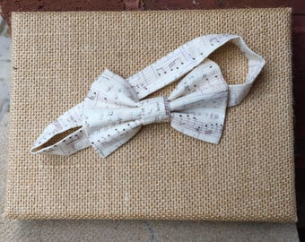 Children's Music Bow Tie