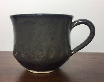 Grey Green Stoneware Mug - Coffee/Tea
