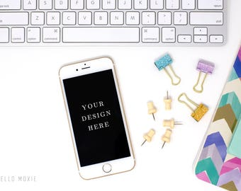 iPhone Mockup - Styled Stock Photography - Styled Stock Photos - Device Stock Photography