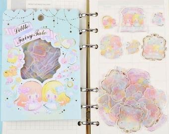 Set of 36 little fairy tale stickers.
